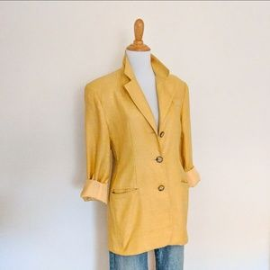 Ann Taylor size 2 gorgeous yellow sunflower matka